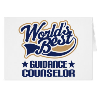 Guidance Counselor Gift Greeting Card