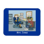 Guidance Counselor Magnet, Personalized with Name Rectangular Photo Magnet