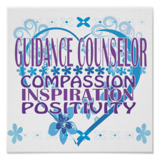 Guidance Counselor Poster and Gifts