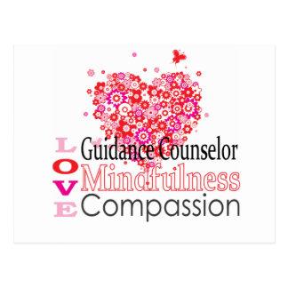 guidance counselors rock postcard