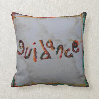 guidance throw pillow