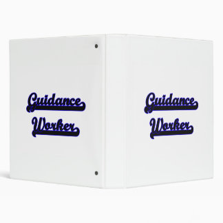 Guidance Worker Classic Job Design Binder