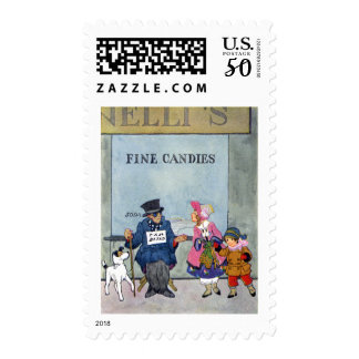 Guide Dog and Friend Postage