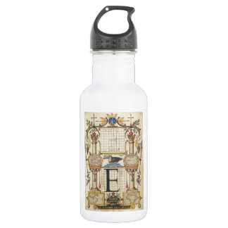 Guide for Constructing the Letter E 18oz Water Bottle