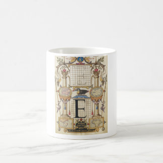 Guide for Constructing the Letter E Classic White Coffee Mug