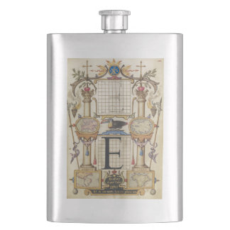 Guide for Constructing the Letter E Hip Flask