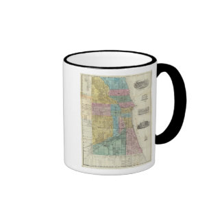 Guide Map of Chicago Coffee Mug