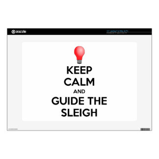 "Guide the Sleigh 15"" Laptop Skins"