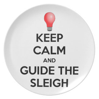Guide the Sleigh Plate
