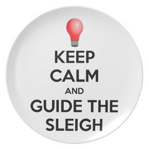 Guide the Sleigh Plates