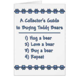 Guide to Buying Teddy Bears Card