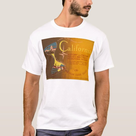 Guide To California 1940 WPA T-Shirt