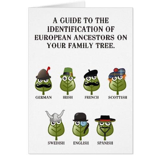 Guide To European Ancestors Card