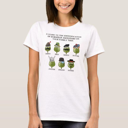 Guide To European Ancestors T-Shirt