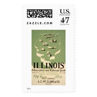 Guide To Illinois 1940 WPA Postage