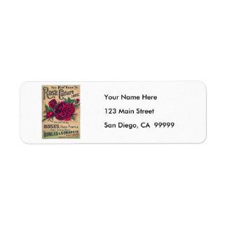 Guide to Rose Culture Return Address Label