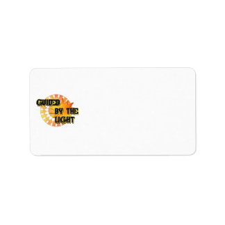 Guided by the Light Avery Address Labels