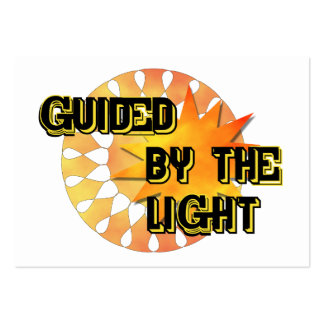 Guided by the Light Business Card