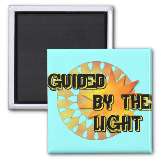 Guided by the Light Refrigerator Magnets
