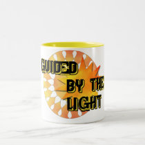 Guided by the Light Two-Tone Coffee Mug