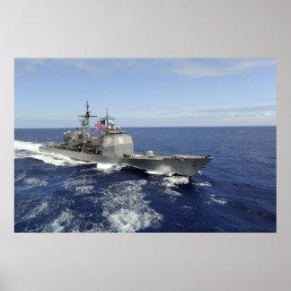 Guided-Missile Cruiser USS Princeton CG 59 Print