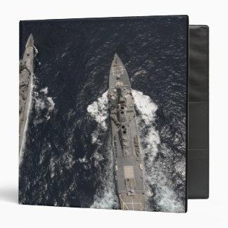 Guided-missile destroyer USS Gridley 3 Ring Binder