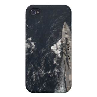 Guided-missile destroyer USS Gridley Cover For iPhone 4