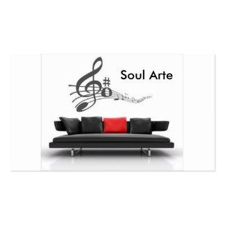 guideline-musical2, Soul Art Business Card
