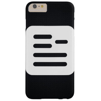 Guidelines Sign Barely There iPhone 6 Plus Case