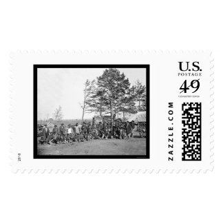 Guides and Scouts of the Army of the Potomac 1864 Stamp