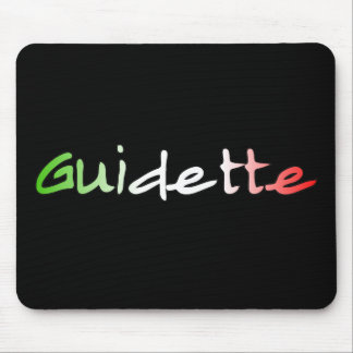 Guidette Mouse Pad