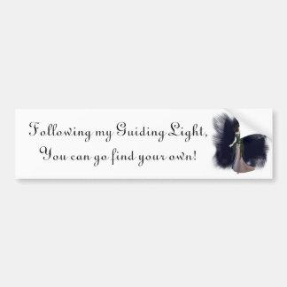 Guiding Light Bumper Sticker