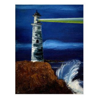 GUIDING LIGHT (lighthouse design 1) ~ Postcard
