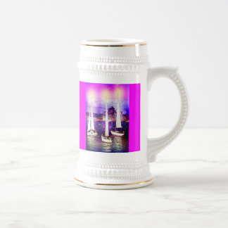 GUIDING LIGHTS BEER STEIN