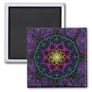 Guiding Star Mandala Magnet
