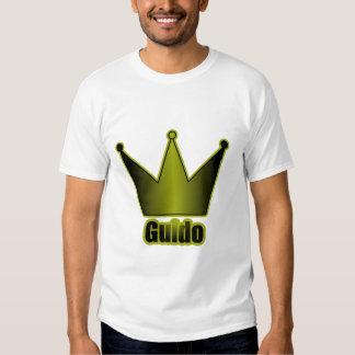 Guido Crown Blue Tee Shirt