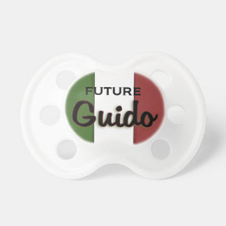 Guido Italian Flag Pacifier