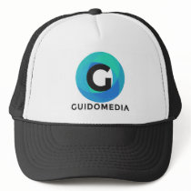 Guido Media Blue Trucker Hat