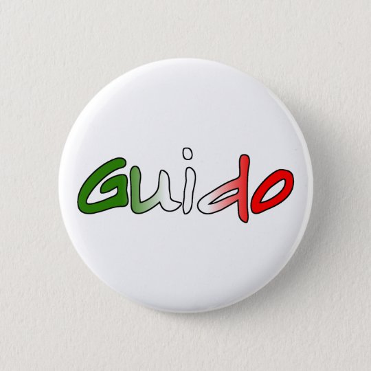 Guido Pinback Button