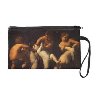 Guido Reni- Angels Wristlet Purse