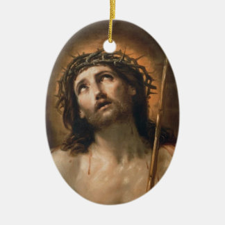 Guido Reni- Ecce Homo Christmas Tree Ornaments