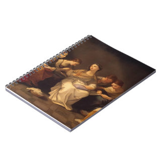 Guido Reni- Education of the Virgin Spiral Note Books