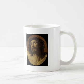 Guido Reni- Head of Christ Crowned with Thorns Coffee Mugs