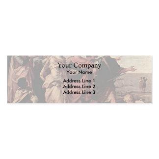 Guido Reni- la violación de Helen Tarjeta De Visita
