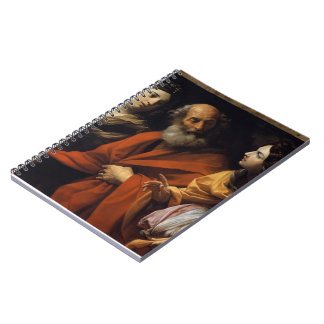 Guido Reni- Loth and her daughters fleeing Sodome Note Book