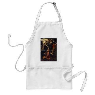 Guido Reni- Martyrdom of St Catherine,Alexandria Adult Apron