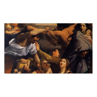 Guido Reni- Massacre of the Innocents Business Card