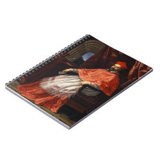 Guido Reni- Portrait of Cardinal Roberto Ubaldini Spiral Notebook