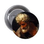 Guido Reni- Saint Matthew Button
