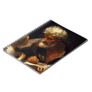 Guido Reni- Saint Matthew Note Books